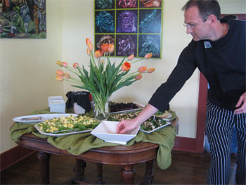 Brick House Kitchen's Chef, David Lewis